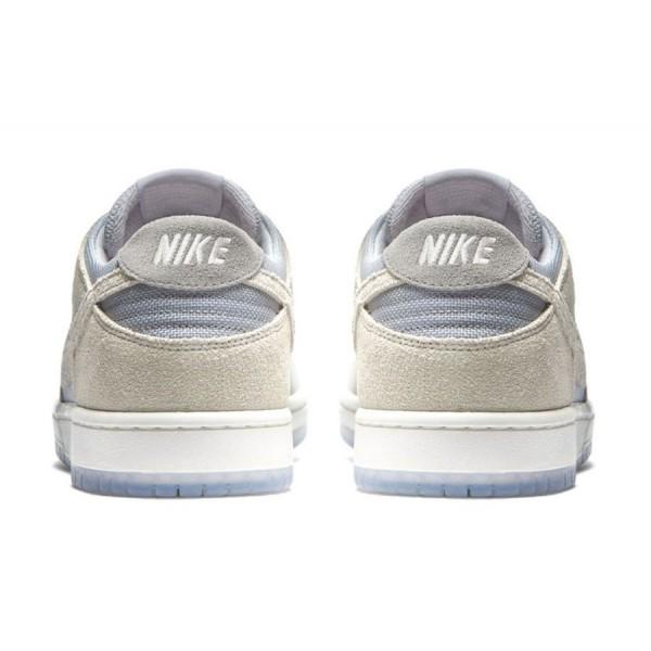 Nike 854866-011 SB Dunk Low Pro Wolf Grey/Summit White/Clear
