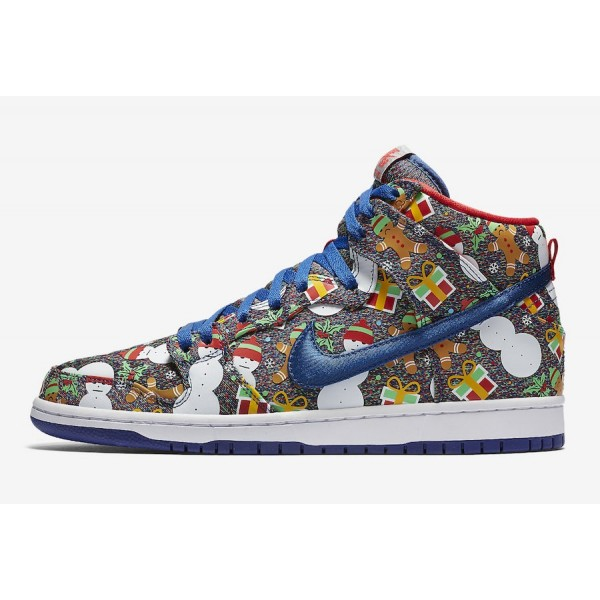 Concepts x Nike SB Dunk High 881758-446 Blue Ribbo...