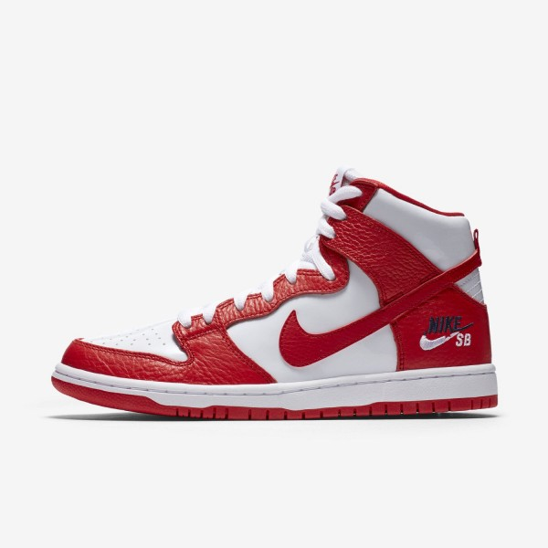 854851-661 Nike SB Zoom Dunk High Pro University R...