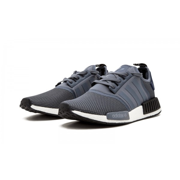 Adidas Men NMD R1 Boost Grey Blue Black Shoes S76842