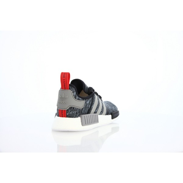 Adidas Men NMD R1 Black Solid Grey Shoes BB2884