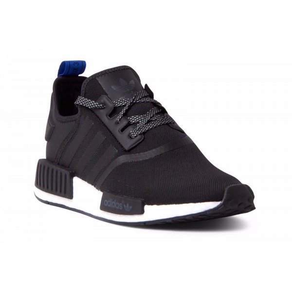Adidas Men NMD R1 Black Blue Shoes S31515