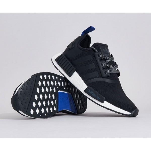 Adidas Men NMD R1 Black Blue Shoes S31515