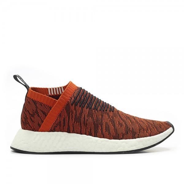 Adidas Men NMD CS2 PK Running Shoes Red Black Shoe...