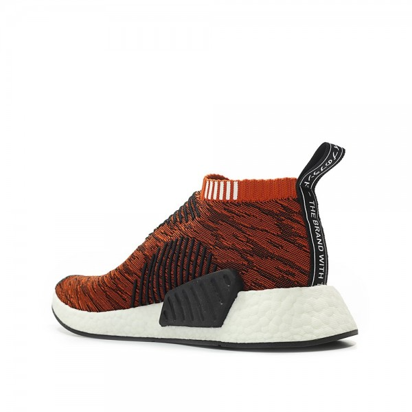 Adidas Men NMD CS2 PK Running Shoes Red Black Shoes BY9406