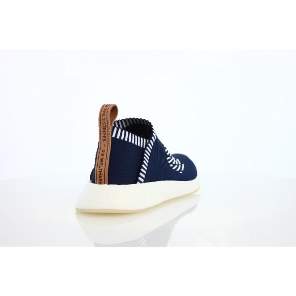 Adidas Men NMD CS2 PK Blue White Shoes BA7189