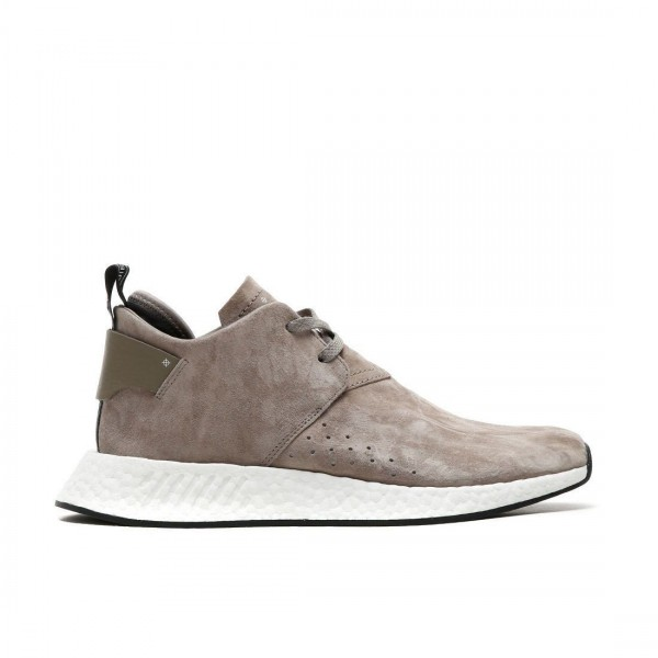 Adidas Men NMD C2 Suede Pack Chukka Nubuck Brown White Black Shoes BY9913