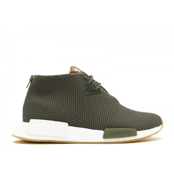Adidas Men NMD C1 END Boost Green White Running Sh...