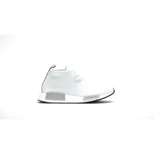 Adidas Men NMD C1 Chukka Vintage White Shoes S7914...