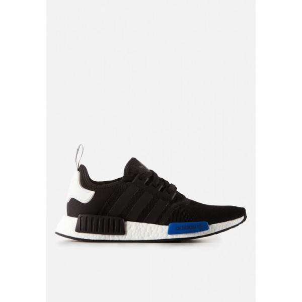 Adidas Men Boost NMD Nomad Runner Black White Blue...