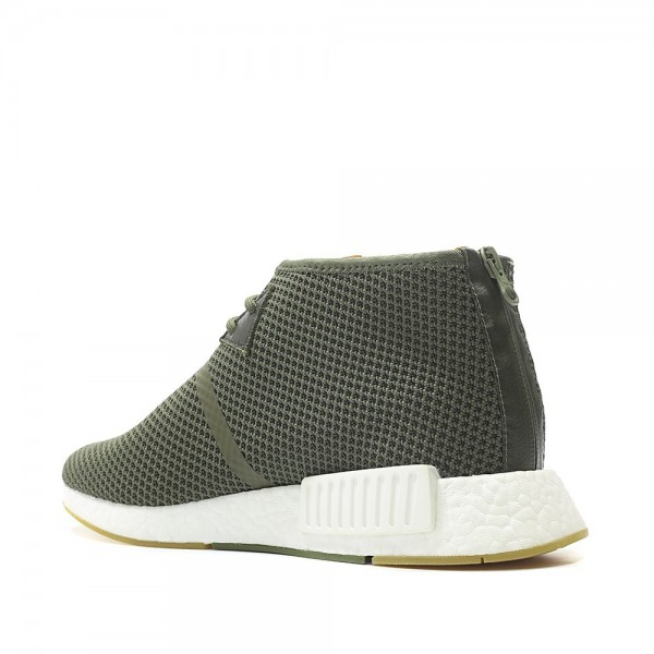 Adidas Men NMD C1 END Boost Green White Running Shoes BB5993
