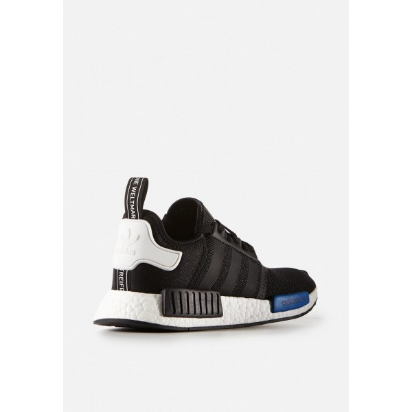 Adidas Men Boost NMD Nomad Runner Black White Blue Shoes S79162