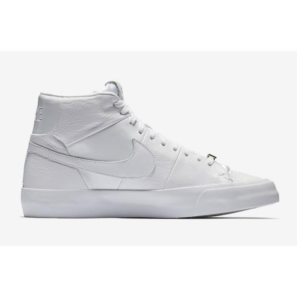 AR8830-100 Nike Blazer Royal QS Triple White Men Shoes