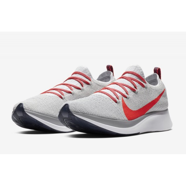 AR4561-044 Nike Zoom Fly Flyknit Bright Crimson Men Shoes