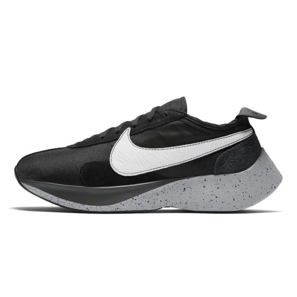AQ4121-001 Nike Moon Racer Black White Wolf Grey M...