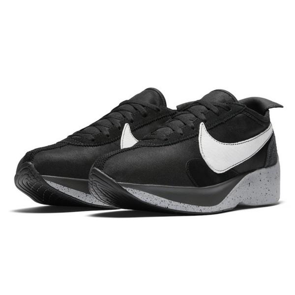 AQ4121-001 Nike Moon Racer Black White Wolf Grey Men Shoes