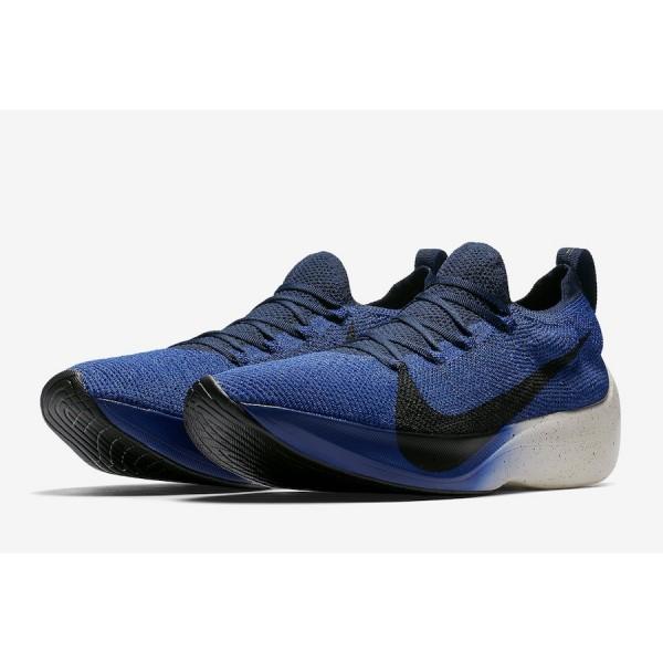 AQ1763-400 Nike Vapor Street Flyknit Deep Royal Black Men Shoes