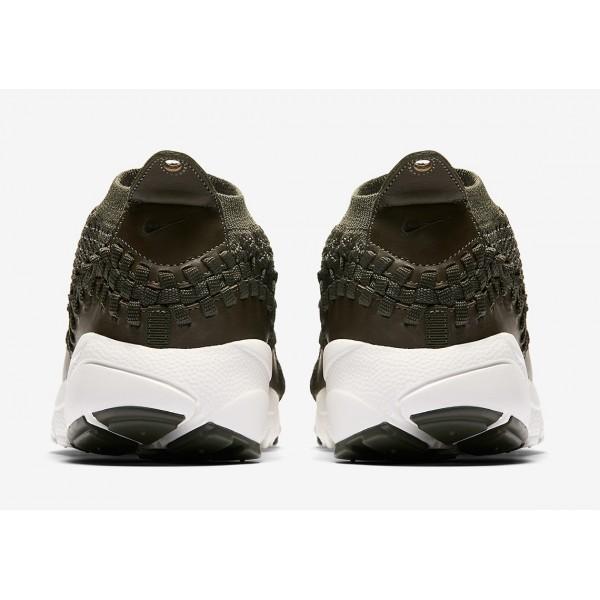AO5417-400 Nike Air Footscape Woven NM Flyknit Cargo Khaki Men Shoes