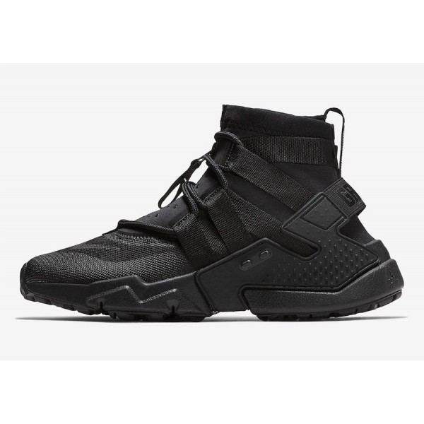 AO1730-002 Nike Air Huarache Gripp Black Men Shoes