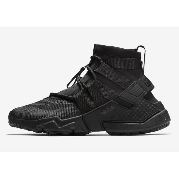 AO1730-002 Nike Air Huarache Gripp Black Men Shoes