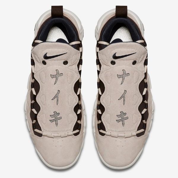 AJ7383-800 Nike Air More Money QS Japanese Yen Orange/Brown