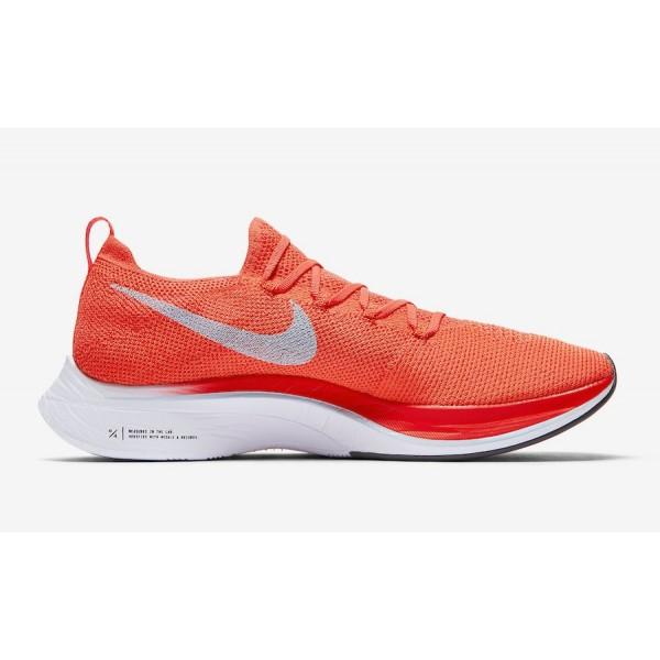 AJ3857-600 Nike Zoom VaporFly 4% Flyknit Bright Crimson Men Shoes
