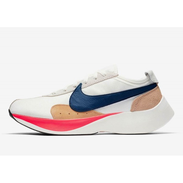 BV7779-100 Nike Moon Racer QS Sail Gym Blue Solar Red Shoes