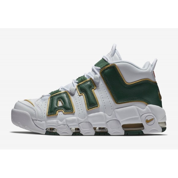 AJ3139-100 Nike Air More Uptempo Atlanta White/Gor...