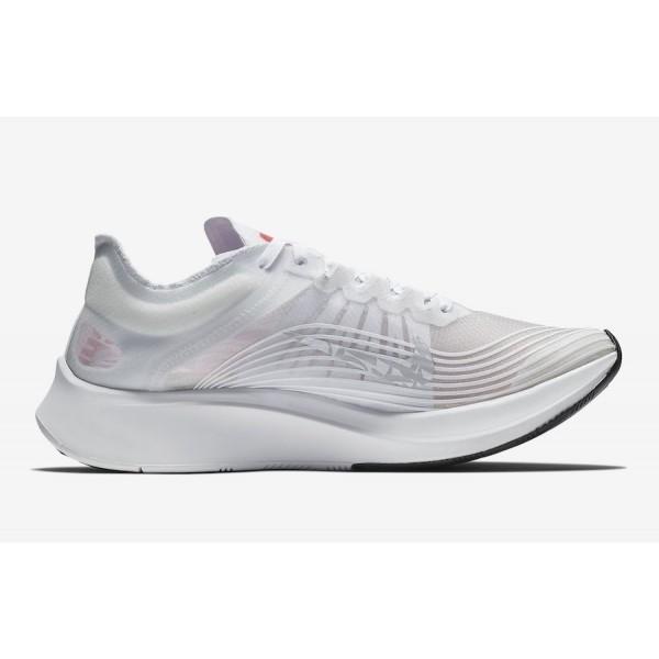 "BV1183-100 Nike Zoom Fly SP ""Chicago Marathon"" White Red Men Shoes"
