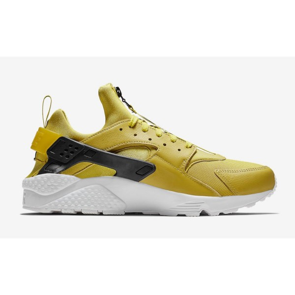 BQ6164-700 Nike Air Huarache Run PRM Zip Bright Citron Men Shoes