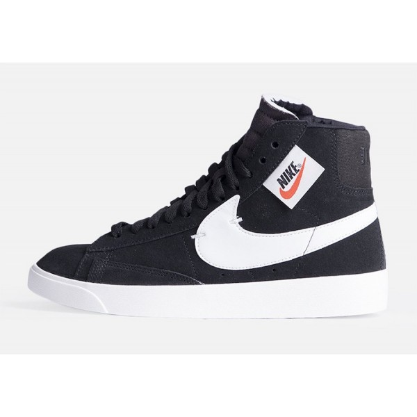 BQ4022-001 Nike Blazer Mid Rebel XX Black White Gr...