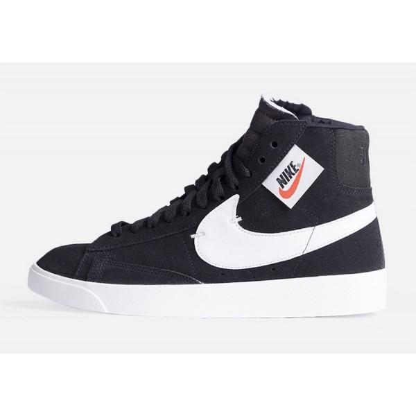 BQ4022-001 Nike Blazer Mid Rebel XX Black White Gr...
