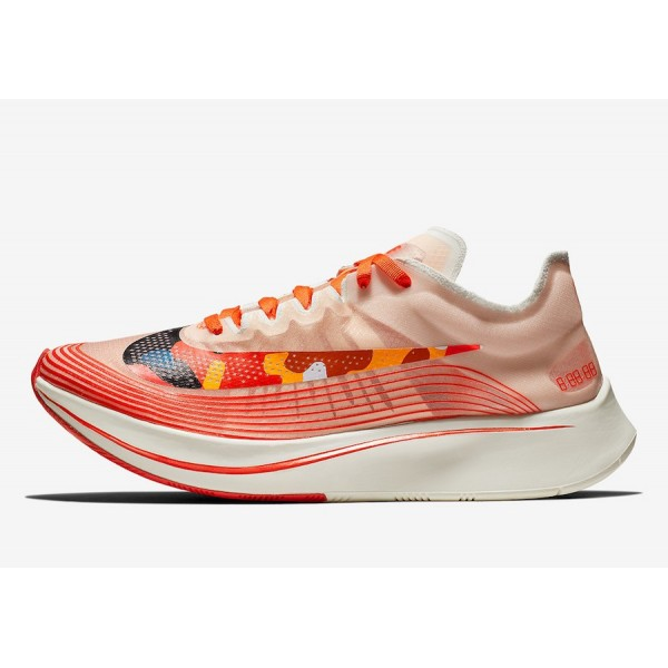 AV8074-800 Nike Zoom Fly SP Team Orange Red Men Sh...