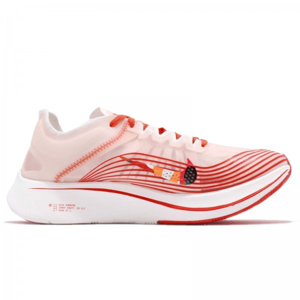 AV8074-800 Nike Zoom Fly SP Team Orange Red Men Shoes