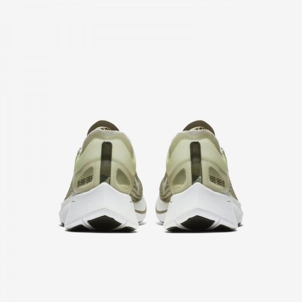 AV8074-001 Nike Zoom Fly SP Light Bone Black Olive Men Shoes