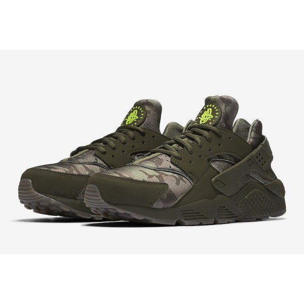 AT6156-300 Nike Air Huarache Cargo Khaki Sequoia Men Shoes