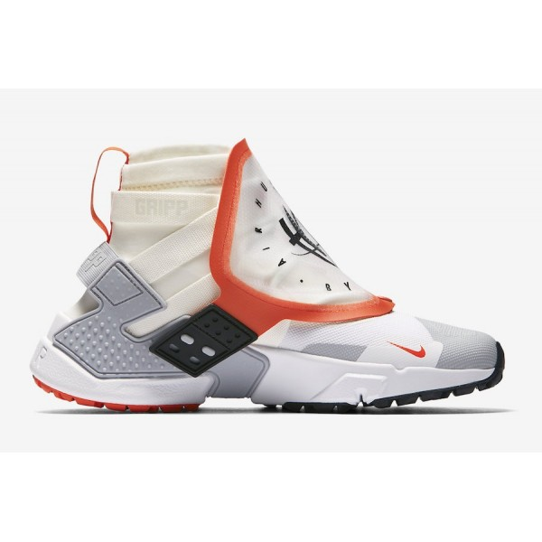 AT0298-100 Nike Air Huarache Gripp QS Sail Team Orange Men Shoes