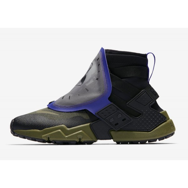 AT0298-001 Nike Air Huarache Gripp QS Black Olive ...