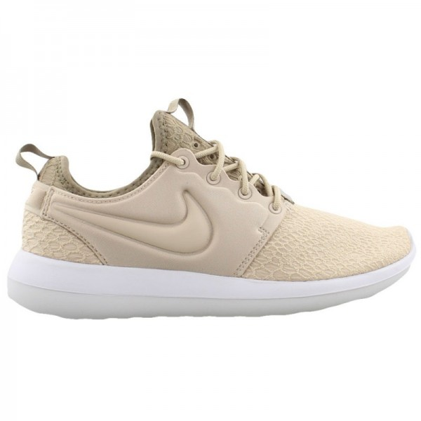 Nike Women Roshe Two Se Oatmeal Khaki White Shoes ...