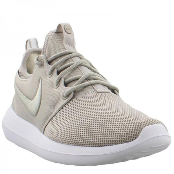 Nike Women Roshe Two Pale Grey White Glacier Blue Shoes 896445-002
