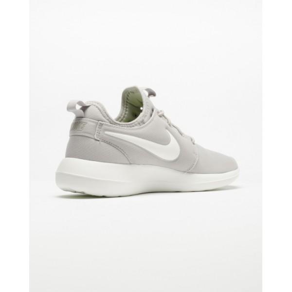 Nike Women Roshe Two Light Iron Ore Volt Shoes 844931-003