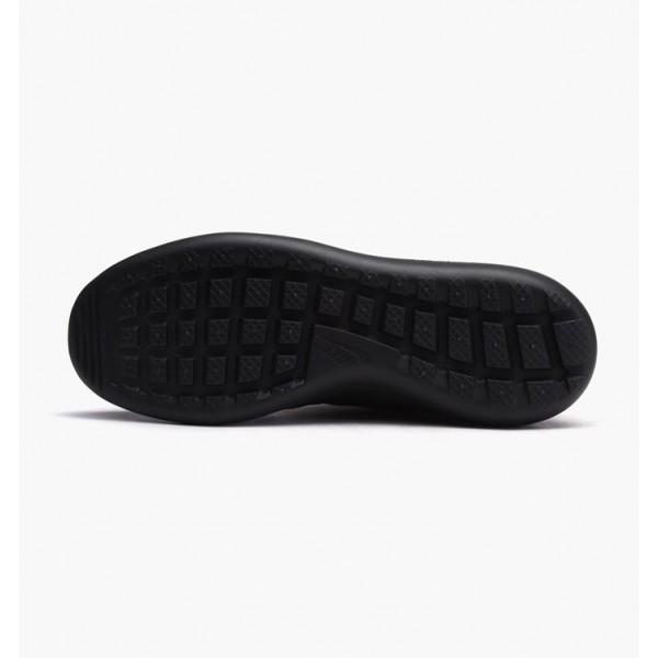 Nike Women Roshe Two Flyknit Hi Black Dark Grey Shoes 861708-001