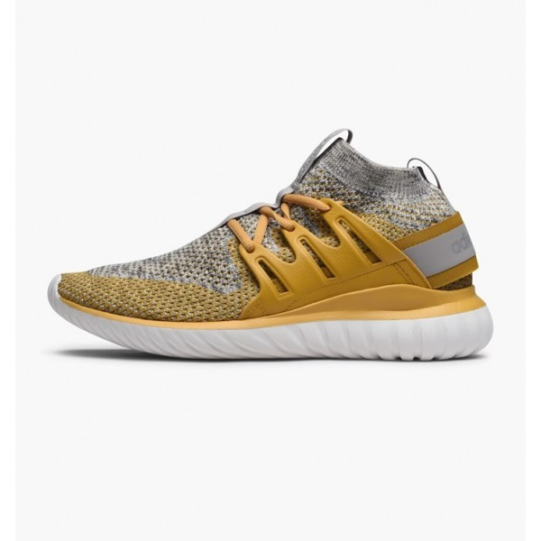 Adidas Men Originals Tubular Nova Primeknit Yellow...