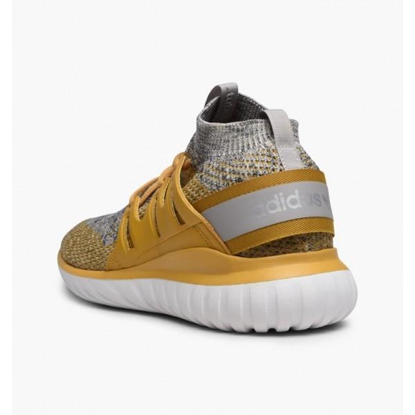 Adidas Men Originals Tubular Nova Primeknit Yellow Granite Shoes BB8407