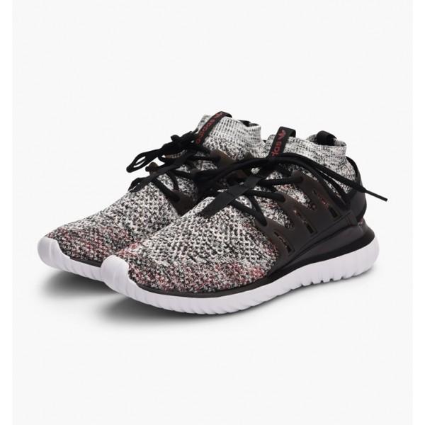 Adidas Men Originals Tubular Nova Primeknit Brown Black Shoes BB8409