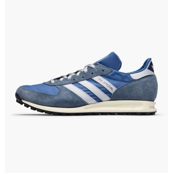 Adidas Men Originals TRX Spezial Blue White Shoes ...