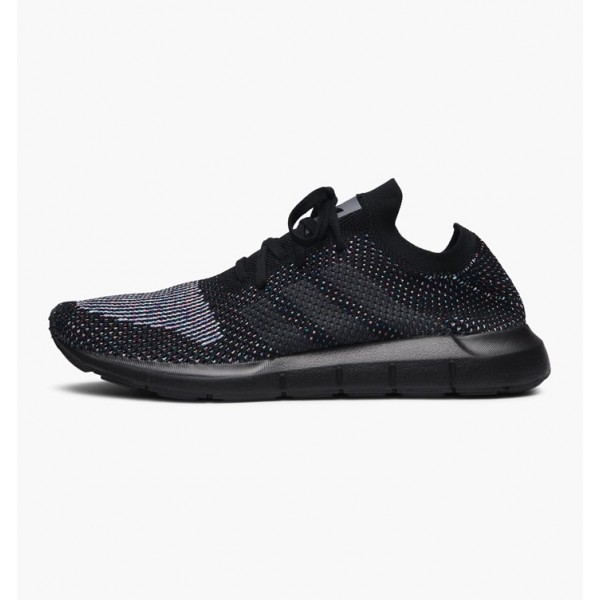Adidas Men Originals Swift Run Primeknit Black Sho...