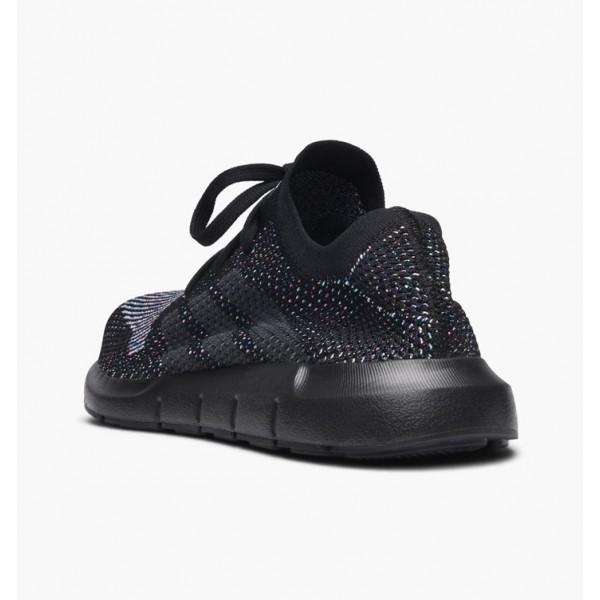 Adidas Men Originals Swift Run Primeknit Black Shoes CG4127