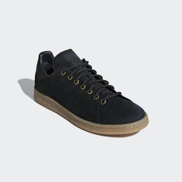 Adidas Men Originals Stan Smith WP Black Gum B37872