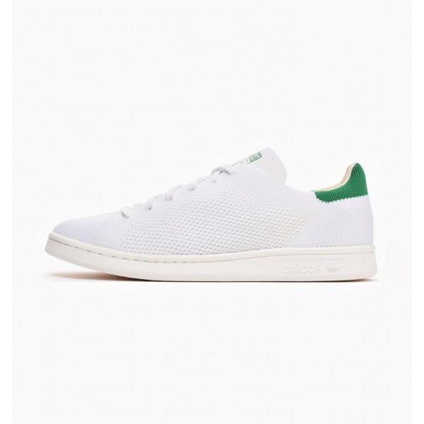 Adidas Men Originals Stan Smith Primeknit White Gr...